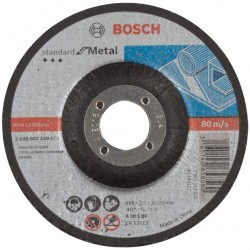 BOSCH Standard for cutting disc with depressed centre, 115 mm, 22.23 mm, 2,5 mm