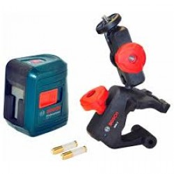 Cross-line laser - GLL 2 - Working range: up to10m, scope of supply: multi-function mount