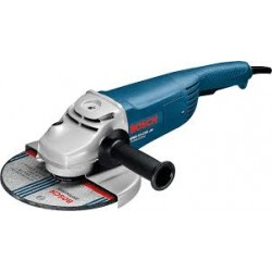 Large Angle Grinder-GWS 2000-230 + CB 2000 W, M14, 230mm (9 inches) + carbon brushes