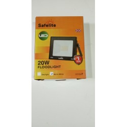 SAFELITE 20W LED FLOOD LIGHT WW