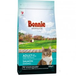 BONNIE ADULT CAT FOOD SALMON - 0.5 Kg