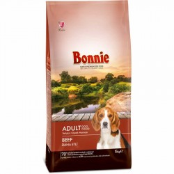 BONNIE ADULT DOG FOOD BEEF - 15 Kg