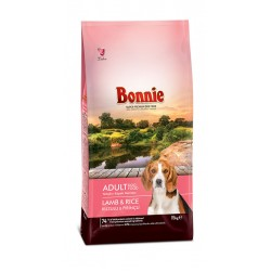 BONNIE ADULT DOG FOOD LAMB AND RICE - 15 Kg