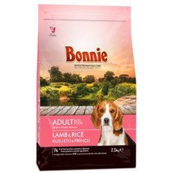 BONNIE ADULT DOG FOOD LAMB AND RICE - 2.5 Kg