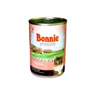 BONNIE CANNED CAT FOOD WITH SALMON - CHUNKS IN JELLY - 400 Gr