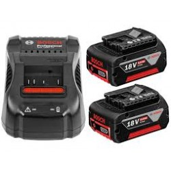 Charger & 2 Batteries-StarterKit 18V, 6.0 Ah  2x 6.0Ah + Charger
