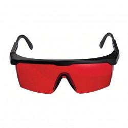 Glasses - Glasses - Laser viewing glasses (red), suitable for: GRL 400 H, GRL 300 HV, GRL 500 H/HV Prof and all line lasers and laser measures / range finders