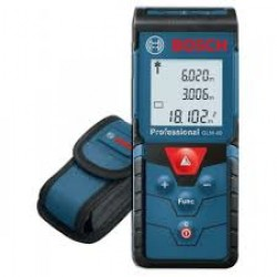 Laser measuring - GLM 40 - m/cm,  ft/inch, range: 0.15-40m, accuracy: ±1.5mm