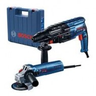 Rotary Hammer-GBH 2-24 DRE + GWS 750-115  Hammer and grinder in one large case