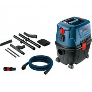 Vacuum cleaner-GAS 15 PS 1100 W, container volume gross: 15l, power socket
