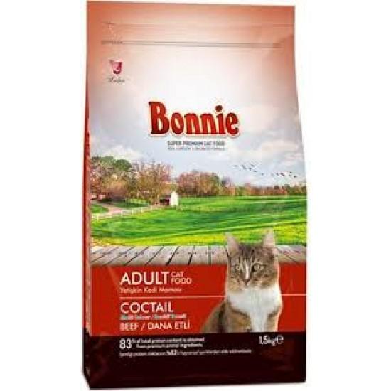 BONNIE ADULT CAT FOOD COCKTAIL - 1.5 Kg