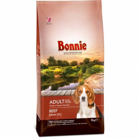 BONNIE ADULT DOG FOOD BEEF - 15 Kg
