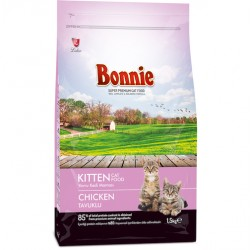 BONNIE KITTEN FOOD CHICKEN - 1.5 Kg