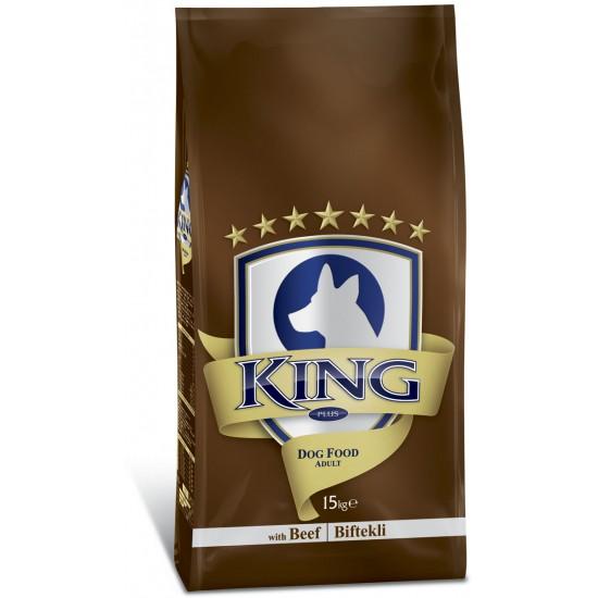KING PLUS ADULT DOG FOOD BEEF - 15 Kg