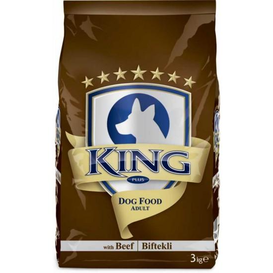 KING PLUS ADULT DOG FOOD BEEF - 3 Kg