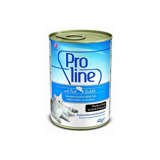 PROLINE CANNED CAT FOOD WITH FISH - 415 Gr